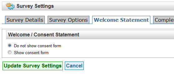 Can I skip the survey consent form – Survey Consent Form